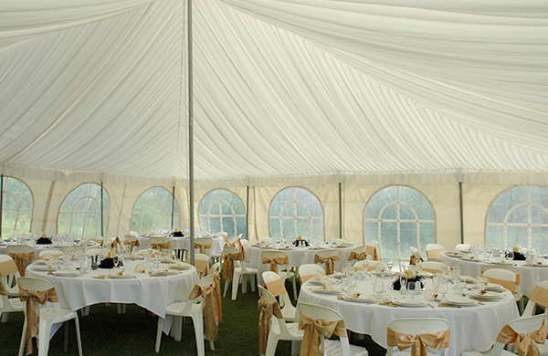 Marquee Silk Linings Hire