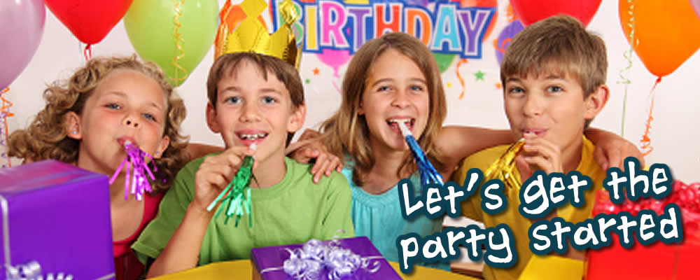 Party Hire Equipment for Children's parties