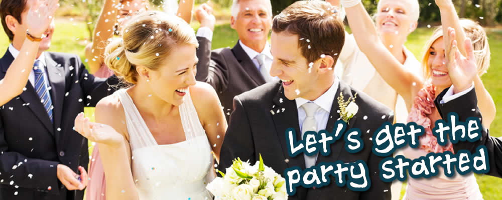Party Hire Equipment for Weddings